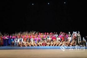 """""""透过舞蹈看亚洲"""" 昆明市民族歌舞剧院国际舞台展风采"""