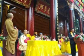 安宁三和寺举行万佛殿暨万姓先祖纪念堂落成庆典