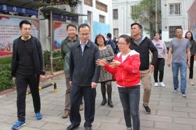 内蒙古自治区党委统战部一行到昆明市金星社区调研城市民族工作