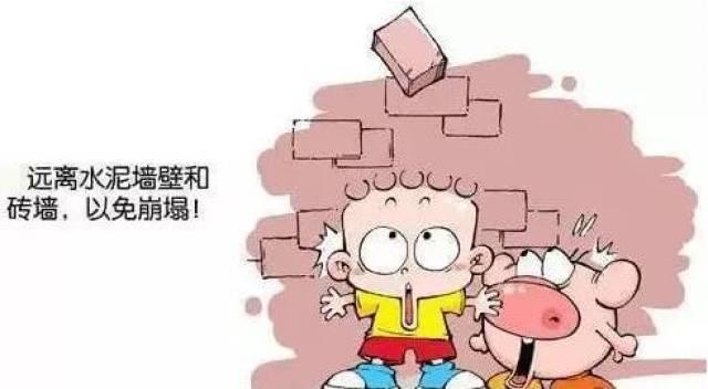 地震自救手册,关键时刻能救命!