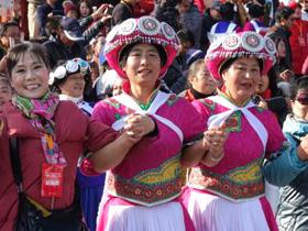 2017年全国夕阳红广场舞(民族舞)大赛在丽江圆满落幕