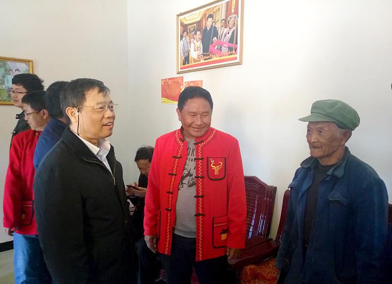 国家民委、外交部等四部委到沧源佤族自治县调研