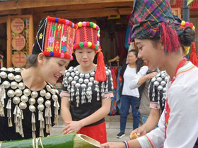 3月16日至18日可以到云南民族村过目瑙纵歌节
