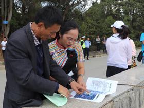 各州市代表团到临沧实地考察龙舟赛比赛场地
