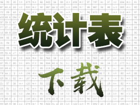 云南少数民族流动人口四级统计表(下载)