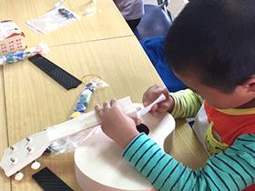 顺城社区:手工课堂丰富孩子暑期生活