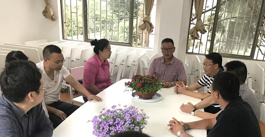 省市区民族宗教部门调研昆明东华路社区示范创建工作