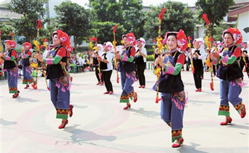 蒙自:彝族传统文化后继有人