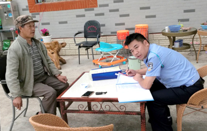 一位傈僳族片警的彝家情怀