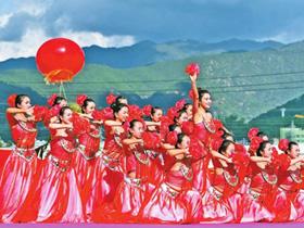 云南省民族运动会举行民族大联欢