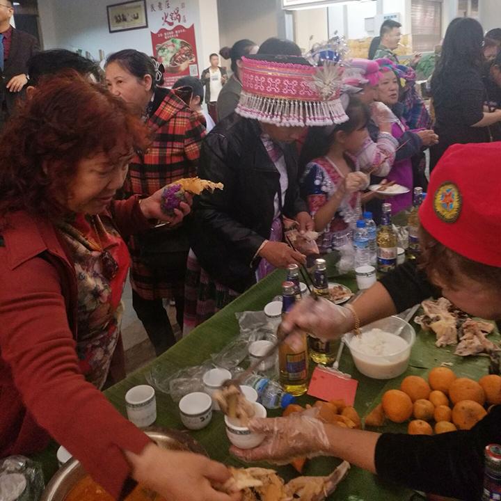 """文山市永通社区举办""""三八妇女节""""联谊活动"""