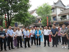 甘肃省张掖市考察团到楚雄市考察学习民族团结进步创建工作
