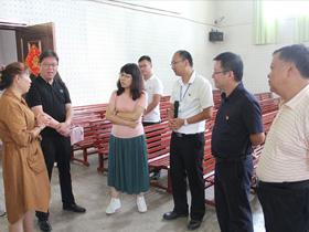 省市区民族宗教部门到玉溪市玉龙社区调研创建工作