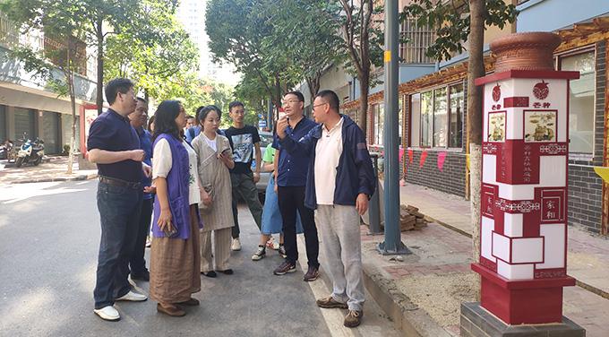 省市民族宗教委到昆明市关上中心区社区指导迎检工作