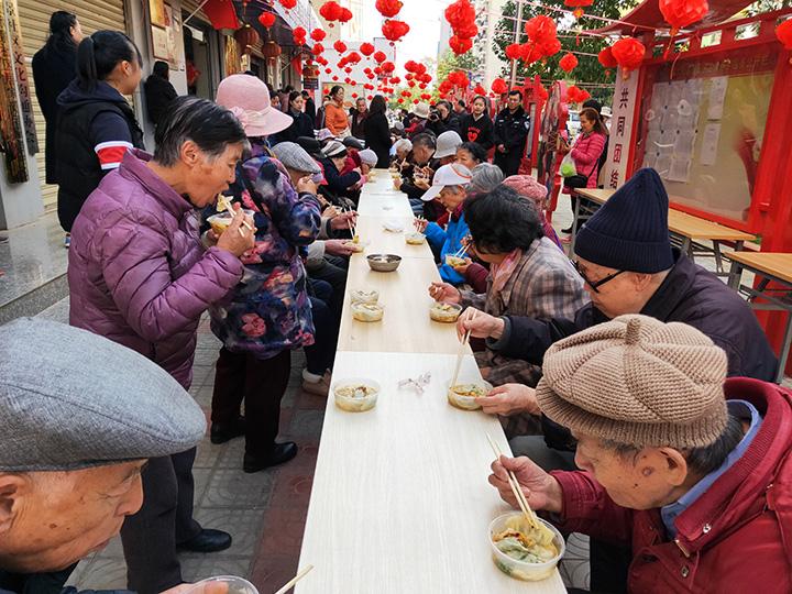 昆明市欣景社区:民族团结心连心 共叙情谊迎新春