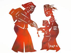 云南艺术家用剪纸作品助力疫情防控