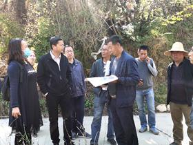"""昆明市西山区调研""""十百千万""""工程推进情况"""