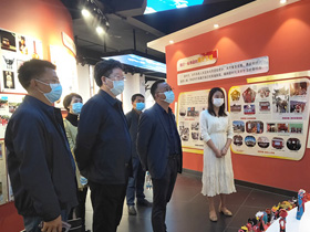 漾濞县到昆明市洛龙社区考察学习民族团结进步示范创建工作