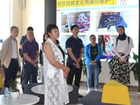 玉溪市红塔区赴新平县考察学习民族团结进步示范创建工作
