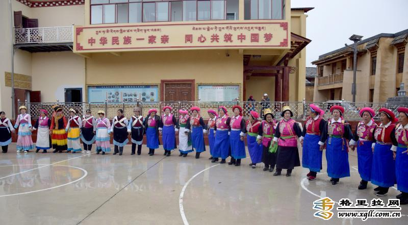 香格里拉金龙社区这样做好民族团结进步示范社区创建工作