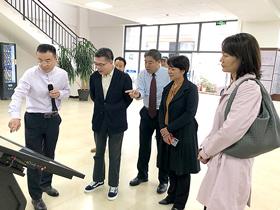 浙江省民族宗教委一行到北辰基督教堂考察