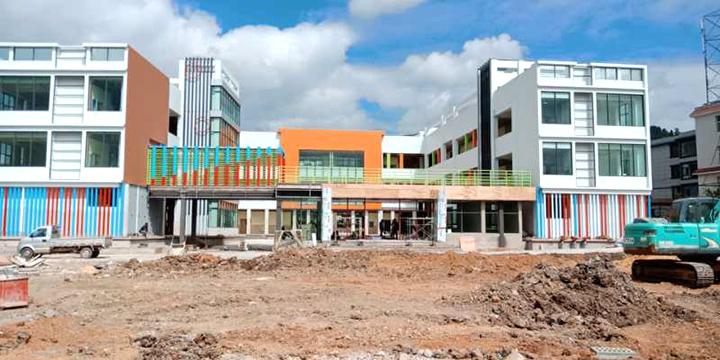玉溪市大营社区幼儿园建设有序推进