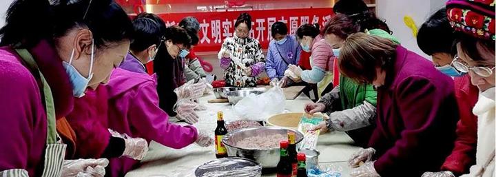 昆明市龙江社区:喜迎新春 表彰先进