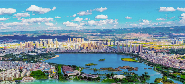 """只为更高质量幸福生活——红河州""""美丽县城""""和""""特色小镇""""建设综述"""