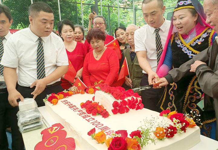 盛高大城社区:民族团结感恩党 百年礼赞心向党