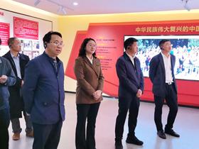 曲靖市麒麟区人大常委会视察民族团结进步创建工作